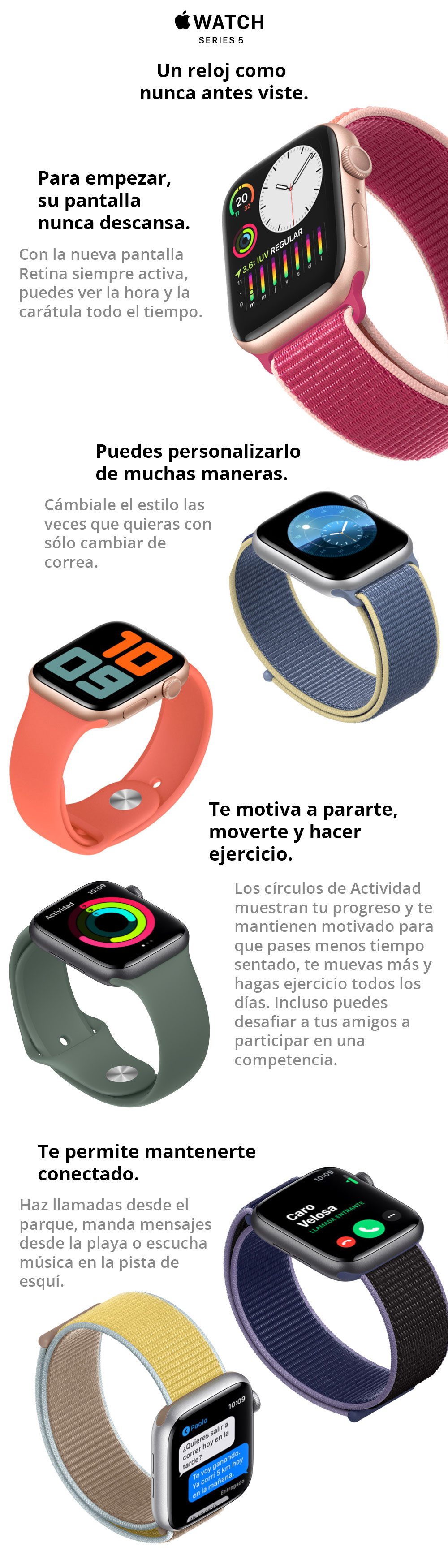 Apple Watch - Series 5 Banner - LaTiendaPE