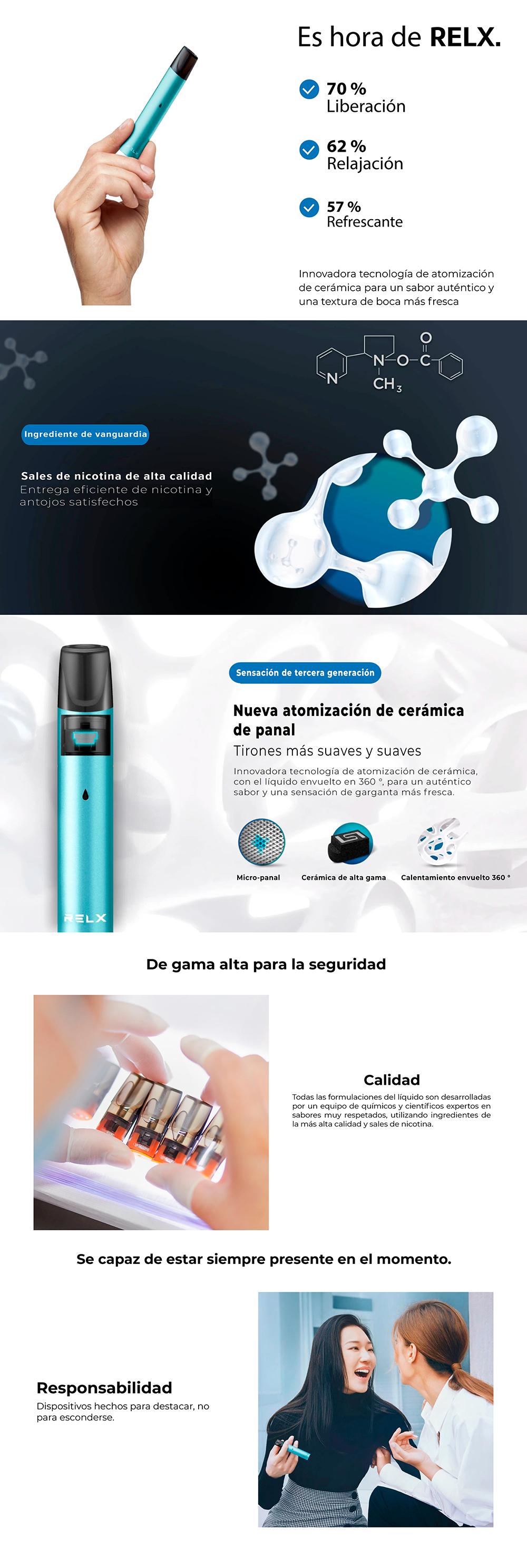 RELX Starter Kit Clasic - Vapeador